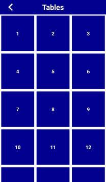 MathTables screenshot 2
