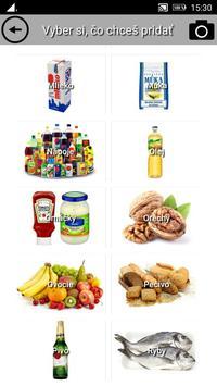 Shopping list screenshot 1