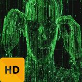 Epic Matrix HD FREE Wallpaper icon