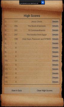Bible Trivia poster