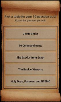 Bible Trivia apk screenshot
