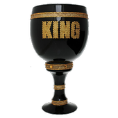 King's cup drinking game icon