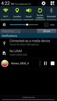 MAVEN Voice Recorder (MP3, NS) screenshot 6