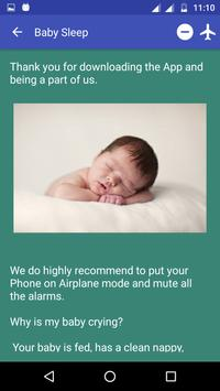 Baby Sleep Sounds - FREE screenshot 2