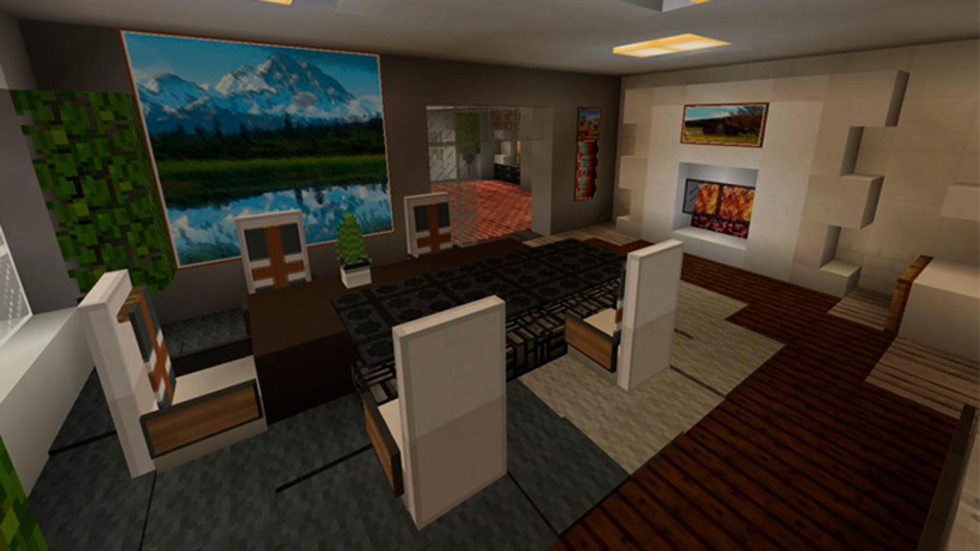 Modern houses and furniture for minecraft تصوير الشاشة 5