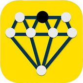 Draw 1 Line  _ a puzzle game ! icon
