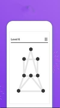 Draw 1 Line  _ a puzzle game ! screenshot 2