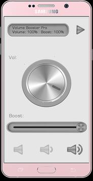 Volume Booster Pro apk screenshot