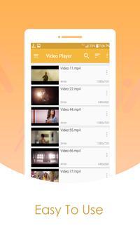 MP4/AVI/FLV HD Video Player poster