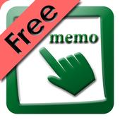 Finger Memo(Free) icon