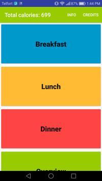 Calories Checker poster
