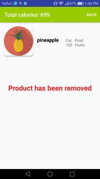 Calories Checker screenshot 3