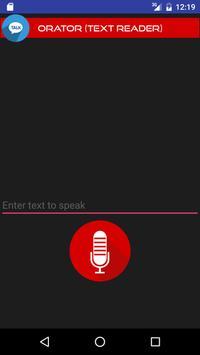 Orator (Text Reader) poster