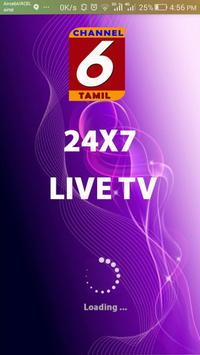 Channel 6 Tamil poster