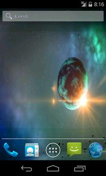 Space Planetary Wallpaper screenshot 1