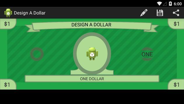 Design A Dollar poster