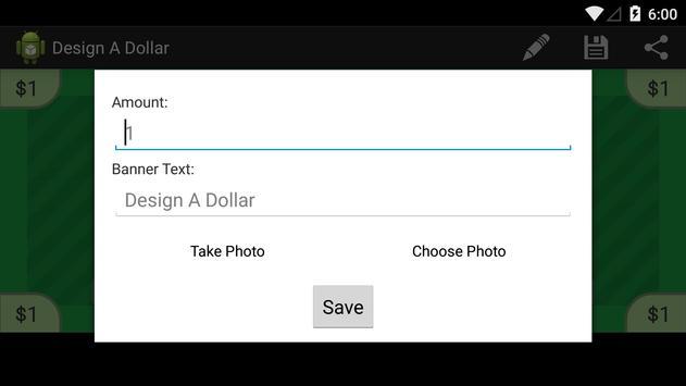 Design A Dollar screenshot 1