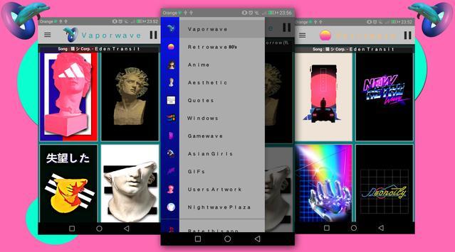 Vaporwave Wallpapers PRO 🌴 (NO ADS) penulis hantaran