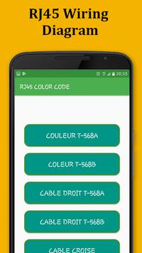 RJ45 Color Code Cable Wiring for Android - APK Download