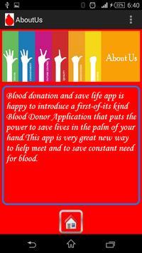 Blood Donation apk screenshot