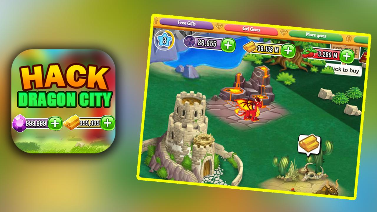 Hack For Dragon City Game App Joke - Prank for Android - APK