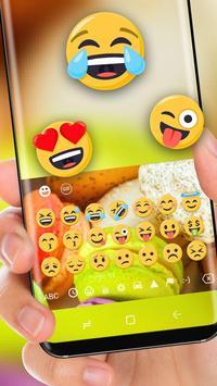 Macaron Keyboard Theme Colorful Cute Cake apk screenshot