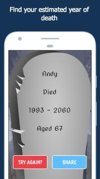 When Will I Die? apk screenshot