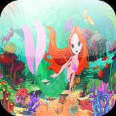 little mermaid sea adventure icon