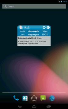 Widget studenta WI ZUT screenshot 5