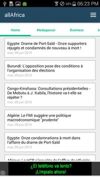 Madagascar News apk screenshot