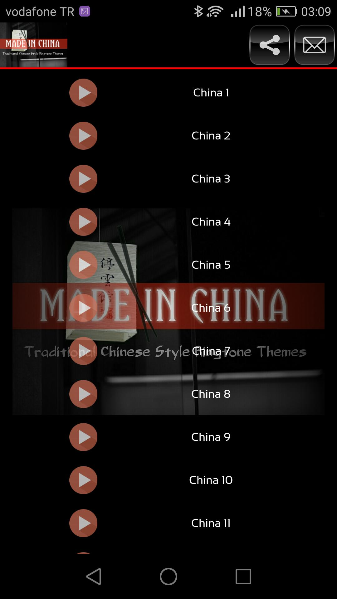 Made In China- Traditional Chinese Theme Ringtones for