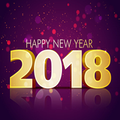 New Year 2018 Wishes SMS Status icon