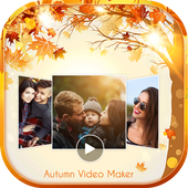 Autumnal Photo Video Maker With Music icon