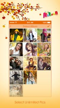 Autumnal Photo Video Maker With Music apk screenshot