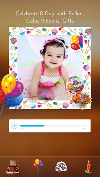 Birthday Photo Video Maker screenshot 4