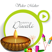 Diwali Music Video Maker With Photos 2018 icon