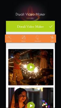 Diwali Music Video Maker With Photos 2018 poster