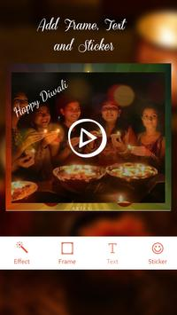 Happy Diwali Video Maker 2018 apk screenshot