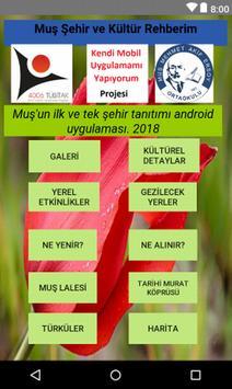 Muş Şehir ve Kültür Rehberim poster