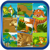 Dinosaurs Puzzles Game icon