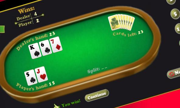 Magic Blackjack screenshot 1