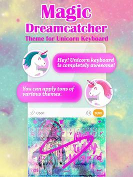 Magic Dreamcatcher Keyboard Theme for Girls poster