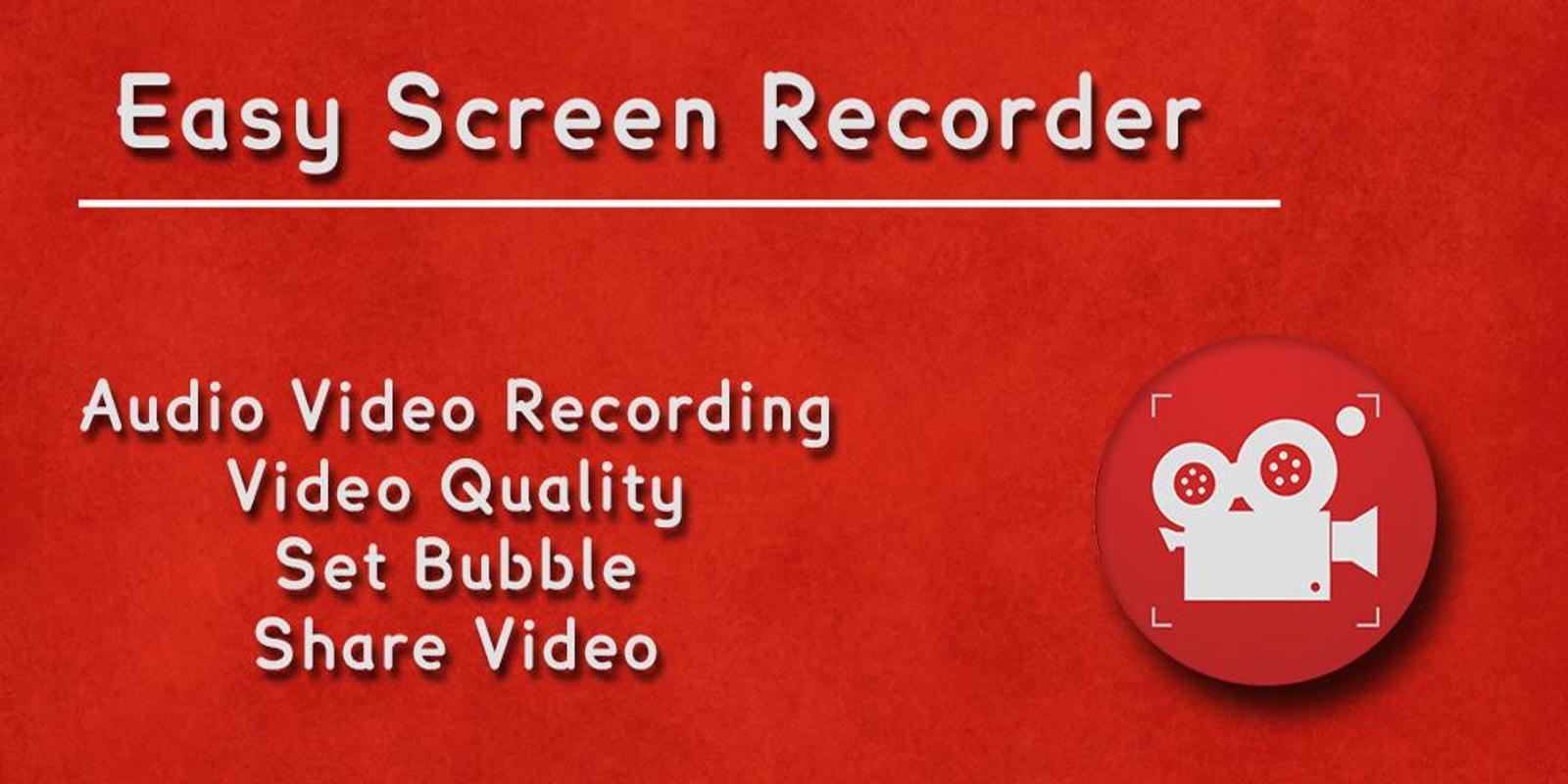 easy screen recorder no root apkpure