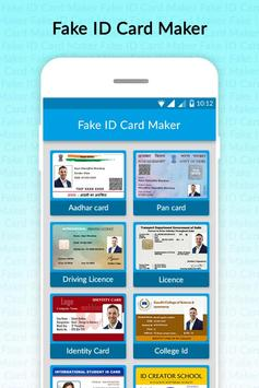 Fake ID Card Generator poster