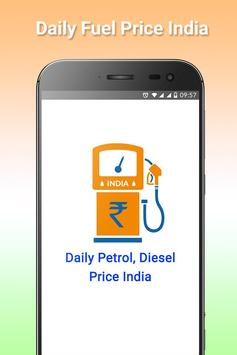 Daily Petrol, Diesel Price In Across India poster