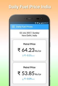 Daily Petrol, Diesel Price In Across India apk screenshot