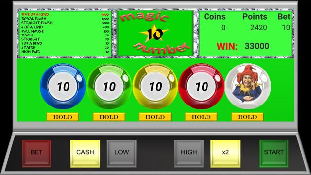 Magic Video Poker screenshot 10