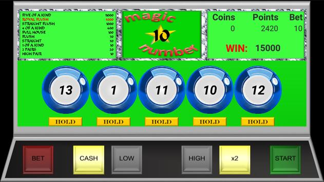 Magic Video Poker screenshot 1