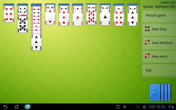 Spider Solitaire HD poster