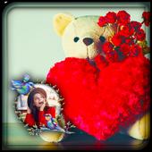 Teddy Day Photo Frame icon